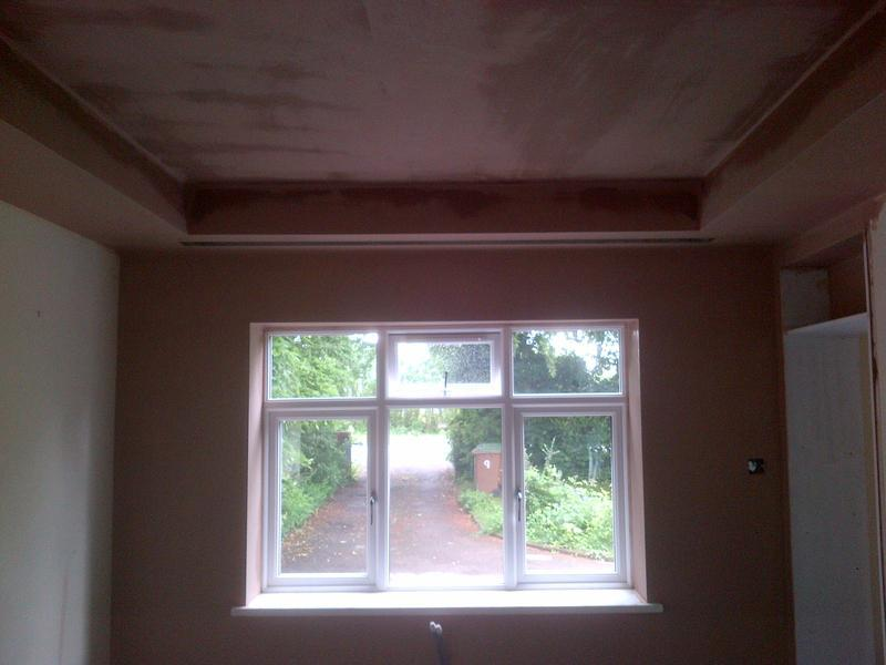 Image 22 - Ceiling plastered