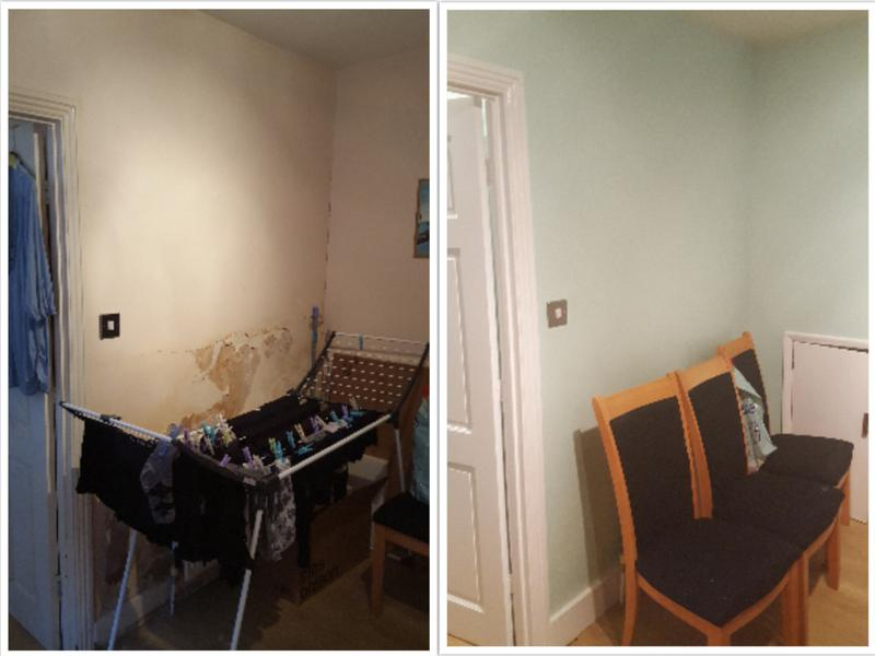 Image 109 - Redecorating a kitchen with damp issues.