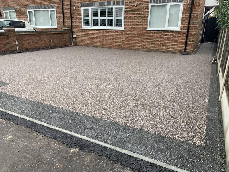 Image 14 - Resin Driveway using Heather blend