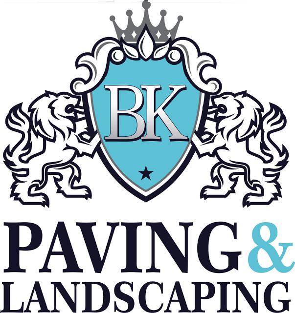 BK Paving and Landscaping logo