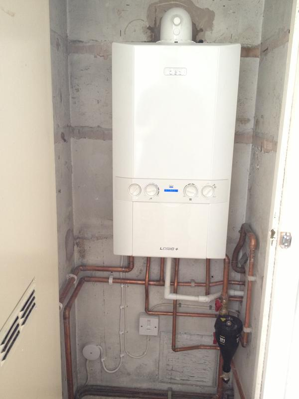 Image 9 - Boiler upgrade, High efficiency Combi boiler replaces conventional system
