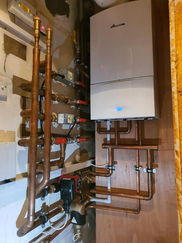 Image 3 - System boiler installation with boosted heating and hot water circulator. Custom built low loss header. Loughton.