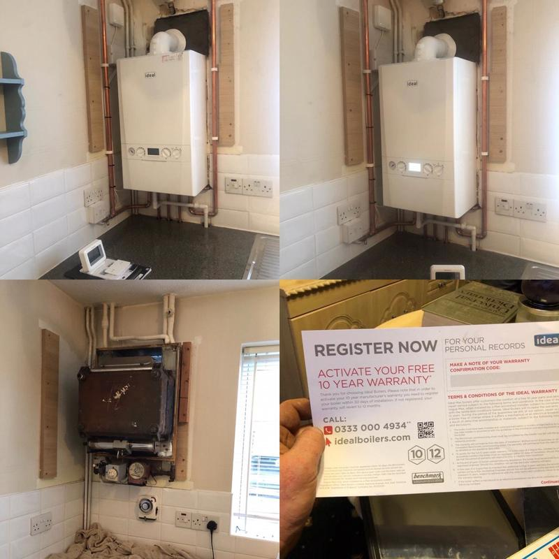 Image 1 - Ideal boiler installation-this boiler comes with a 10yr warranty!