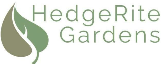 Hedgerite Gardens LTD logo