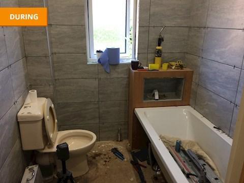 Image 23 - Bathroom Installation