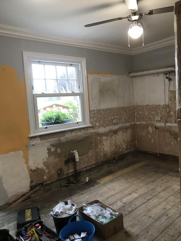 Image 34 - Customer 0086: Kitchen removed.