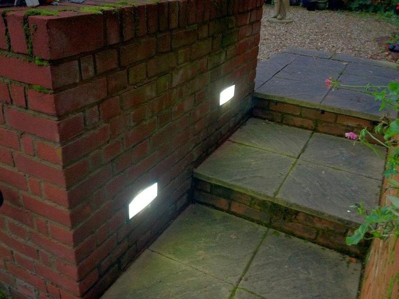 Image 3 - Brick Lights Installed in a garden in Welwyn.