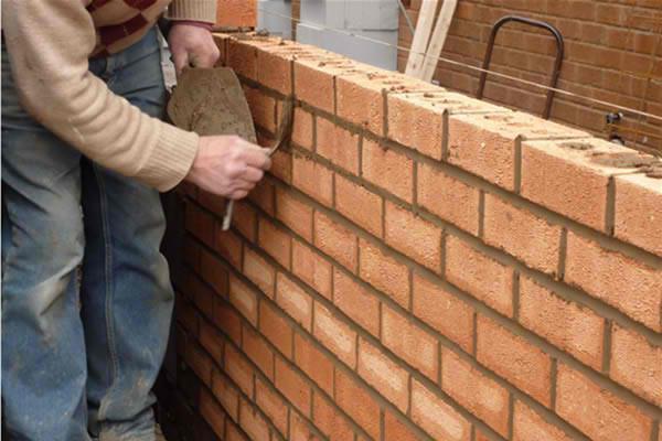 Image 150 - Brick wall construction
