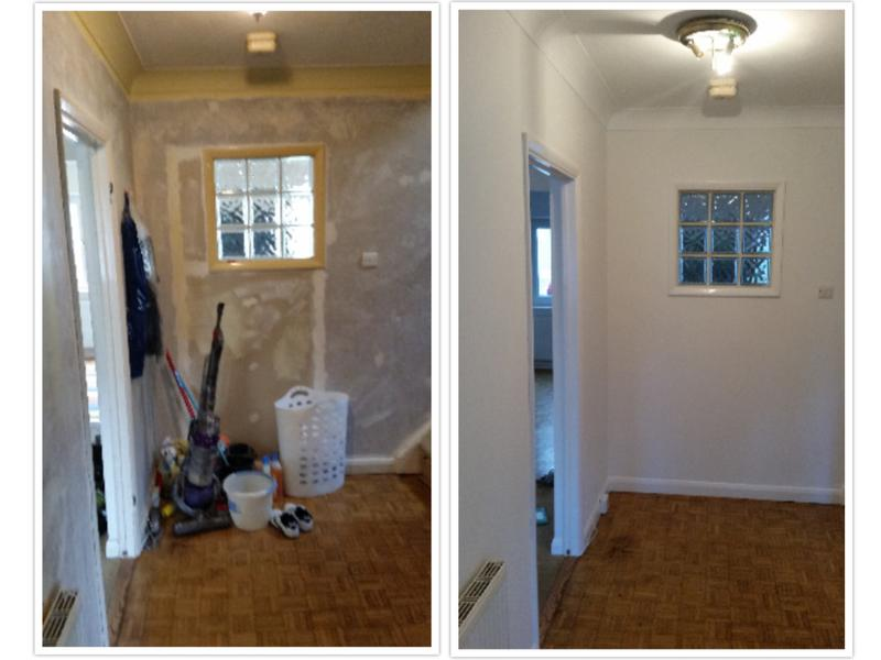 Image 108 - Plastering and redecoration