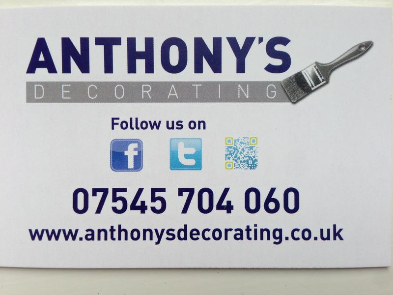 Anthony's Decorating Ltd logo
