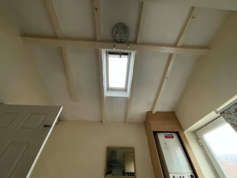 Image 83 - Bury House refurbishment - Before - Skylight