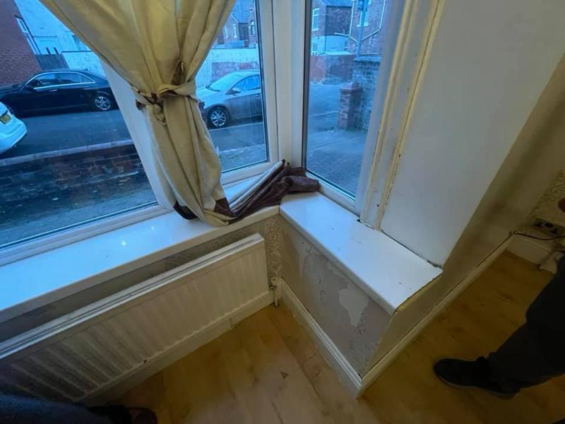 Image 84 - Bury House refurbishment - Before - Window