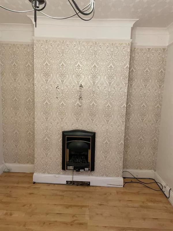 Image 85 - Bury House refurbishment - Before - Chimney Breast