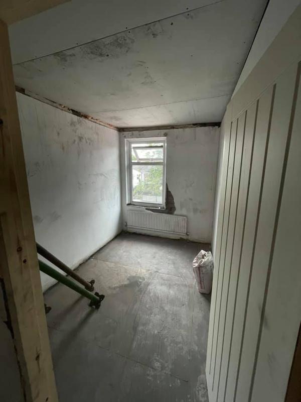 Image 27 - Bury House refurbishment - During - Roof work