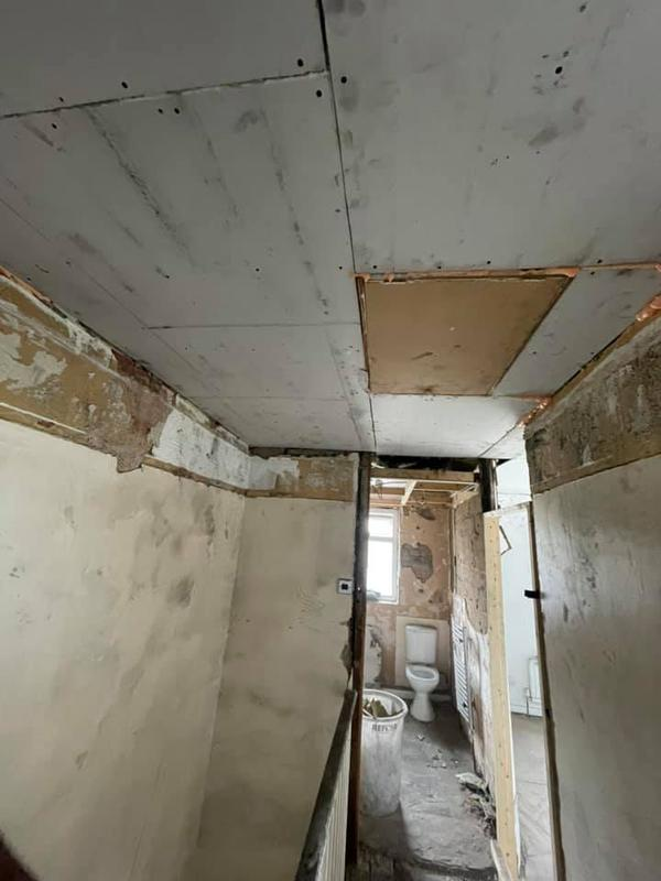 Image 30 - Bury House refurbishment - During - Roof work
