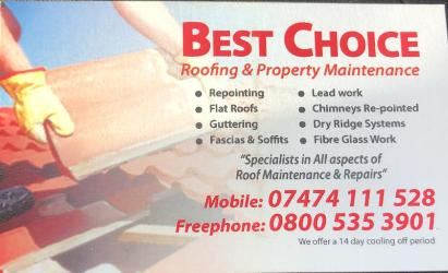 Best Choice Roofing logo