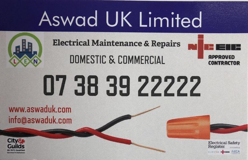 Aswad Electrical Services logo