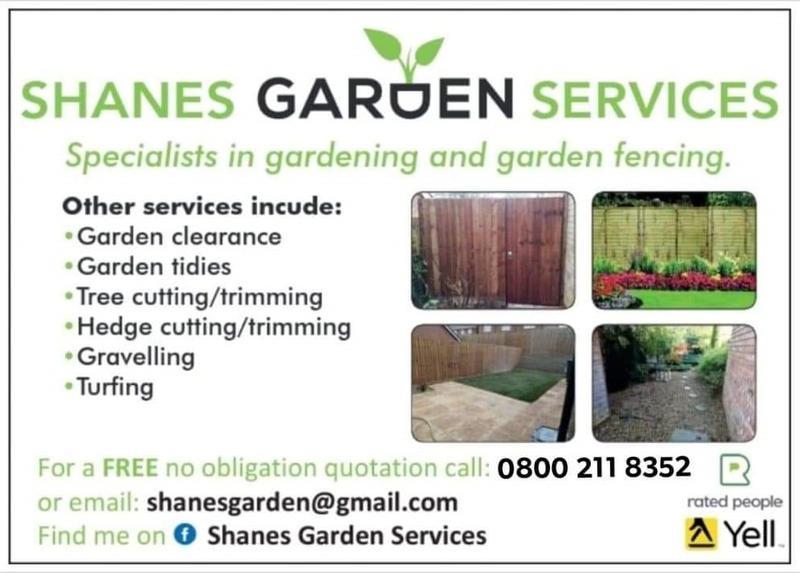 Shane's Gardening Services logo
