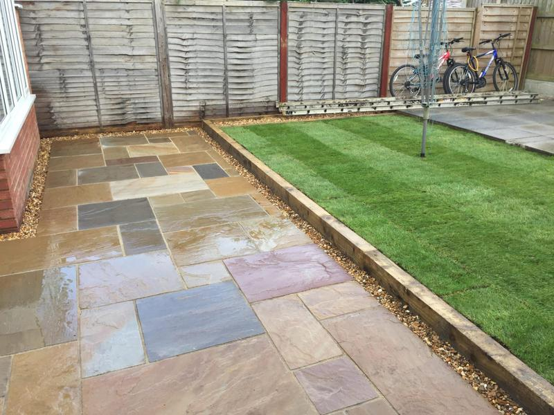 Image 22 - new patio and real turf