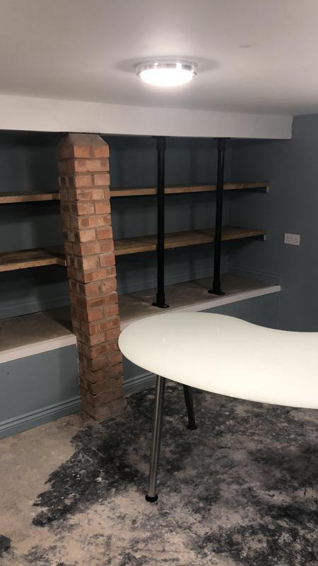 Image 27 - Bespoke basement shelving