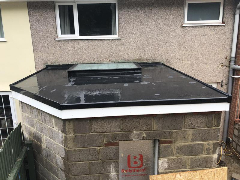 Image 18 - New EPDM  roof with fitted lantern