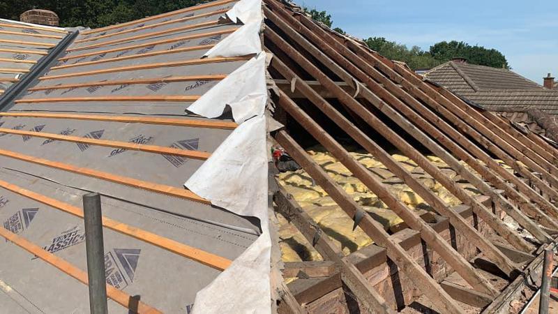 Image 1 - New roof in progress