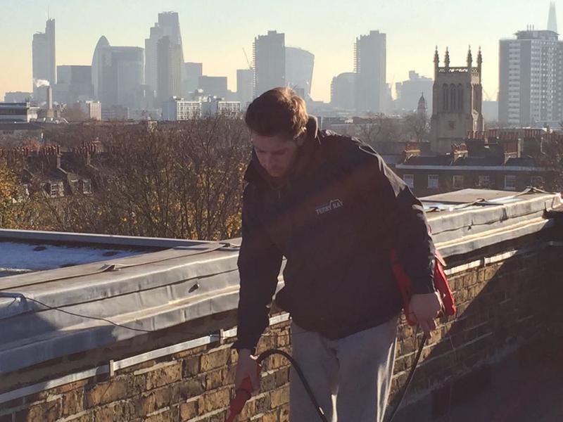 Image 23 - Electronic Leak Detection To Flat Roof - Islington, London