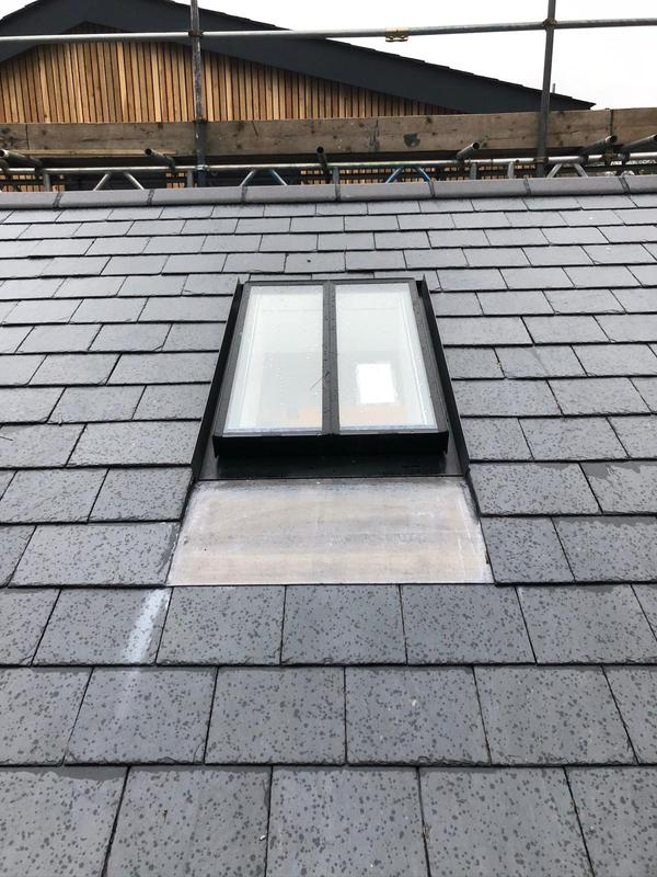 Image 8 - Conservation window installed into a slate roof in Maidenhead