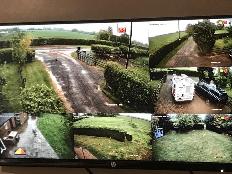Image 58 - 8mp cctv camera installation monitor view