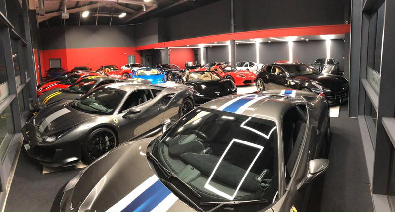 Image 30 - Supercar showroom
