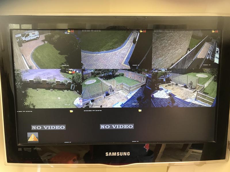 Image 84 - HD security cctv turret camera installation