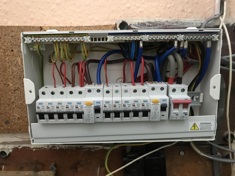 Image 15 - A Consumer unit upgrade using the existing wiring
