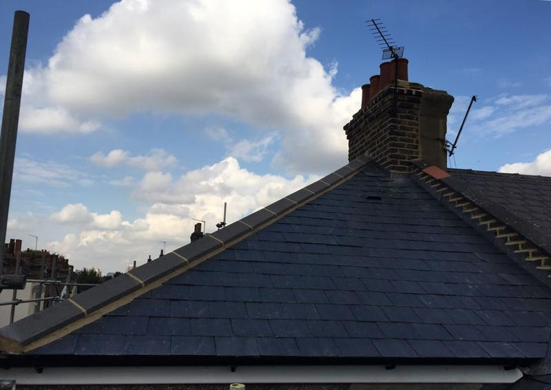 Image 18 - Re-Roof Natural Spanish Slates - Canning Town, East London