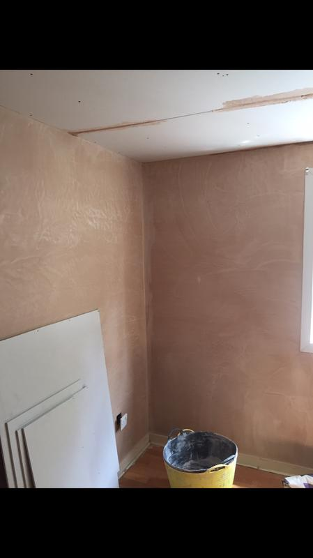Image 37 - Customer decided to have ceiling boarded and skimmed after I did walls.