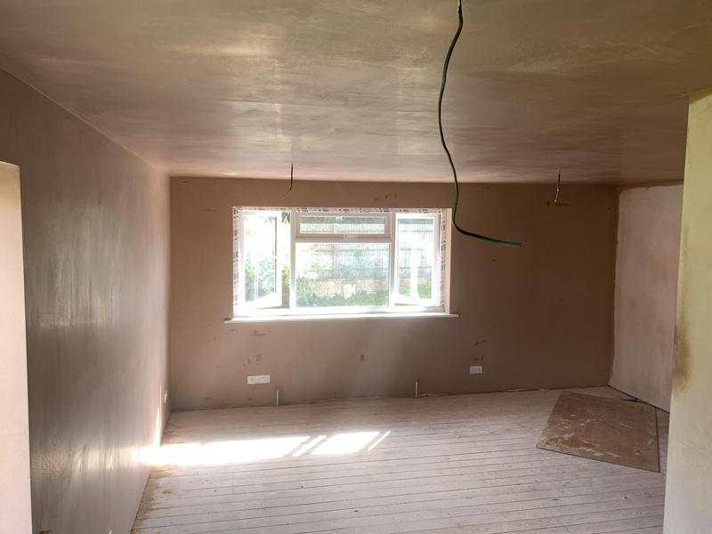 Image 19 - Plastering finished.Clean and tidy as standard.