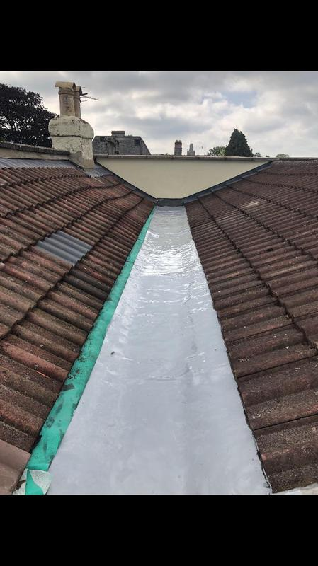 Image 13 - New roof in yatton with liquid rubber bay