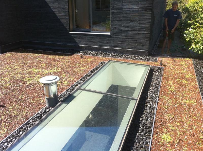 Image 15 - Soprema PVC Single Ply Membrane With Green Roof System - Highgate, London