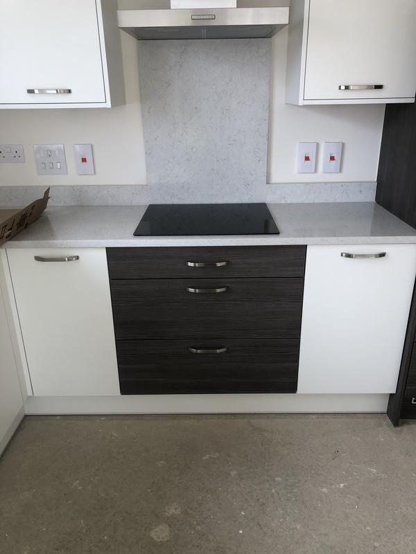 Image 1 - Completed Installation & Testing of Cooker & Hob