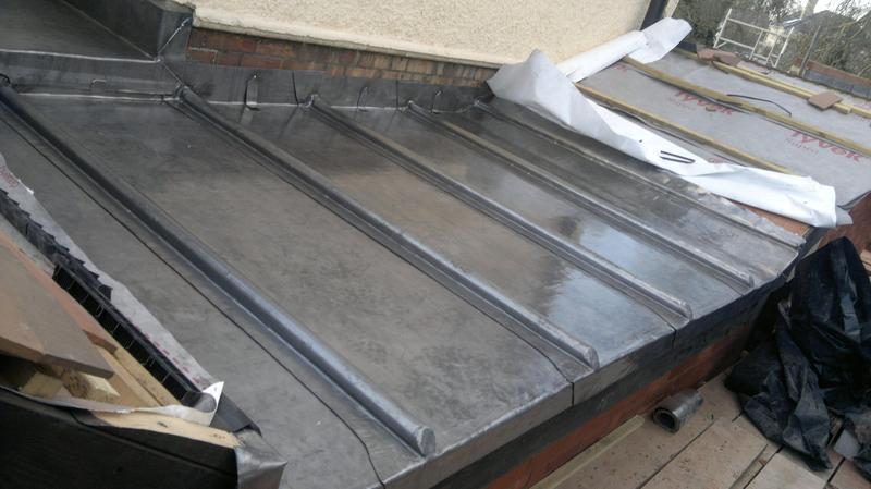 Image 3 - Lead flat roof Cambridge