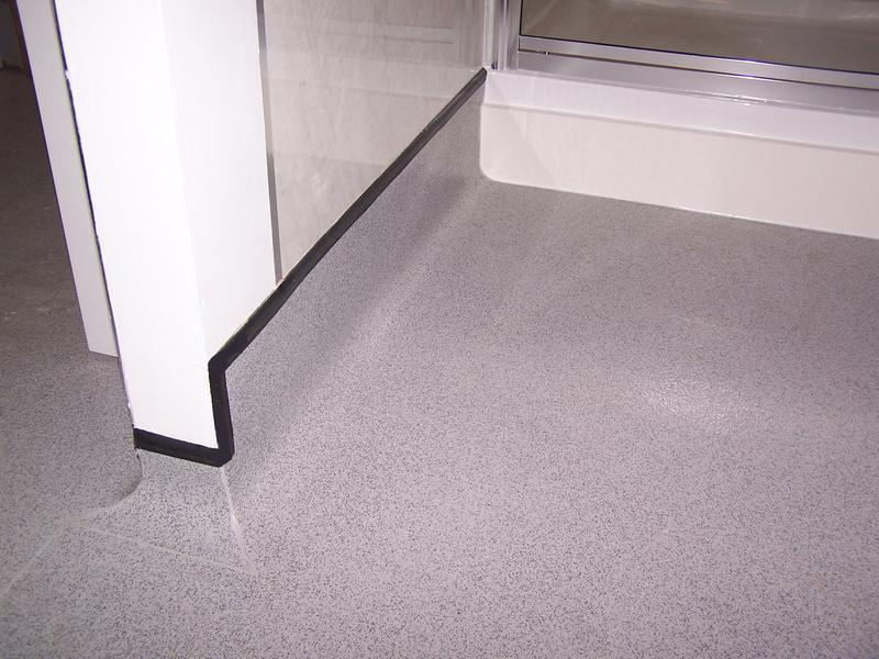Image 18 - Cap and coved safty floor