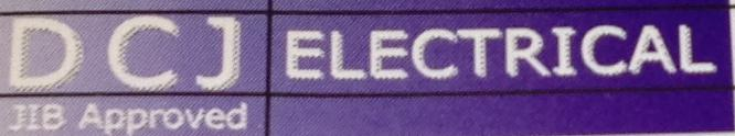 DCJ Electrical logo