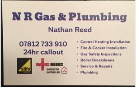 NR Plumbing and Gas logo