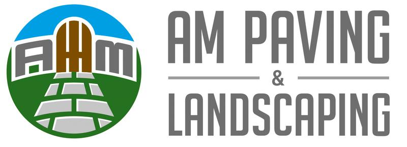 AM Paving and Landscaping logo