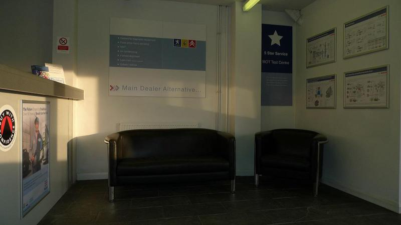 Image 7 - Clean & comfortable waiting area