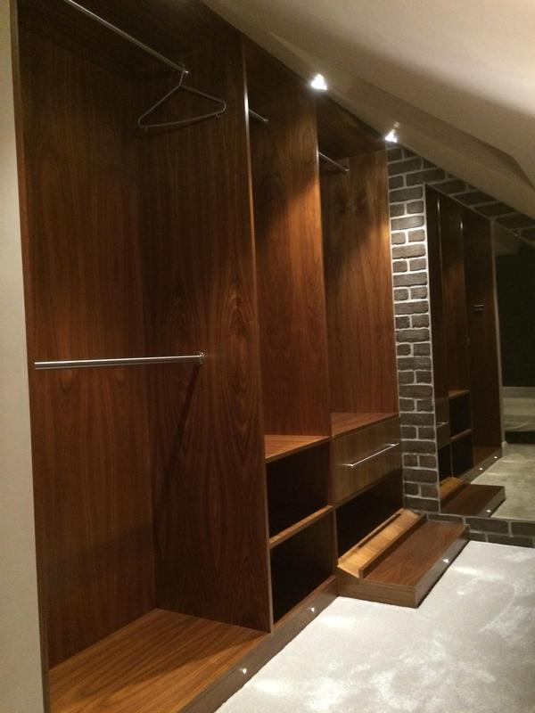 Image 59 - Wardrobes and drawer cupboards sealed with 3 coats of clear satin varnish