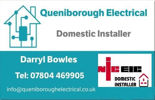 Queniborough Electrical logo