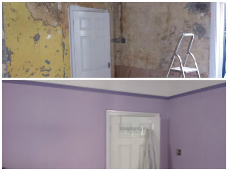 Image 106 - Refurbishment of a room.