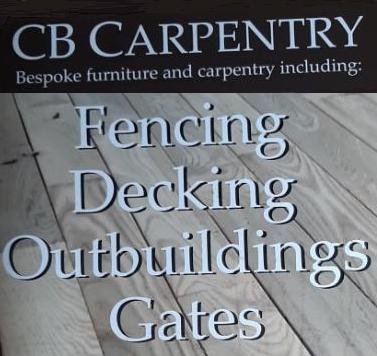 CB Bespoke Decking, Fencing & Carpentry logo