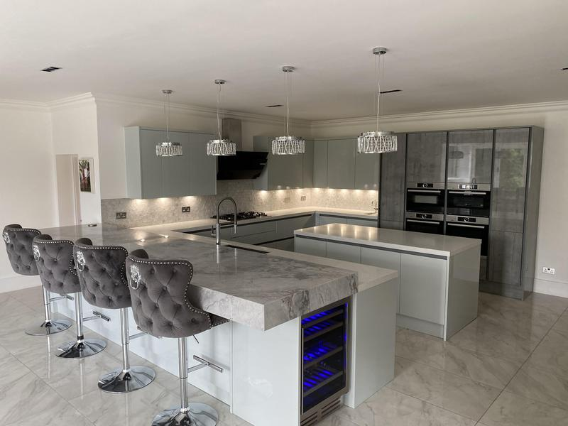 Image 5 - Kitchen Refurb - including 150m2 of marble flooring - Langley Park