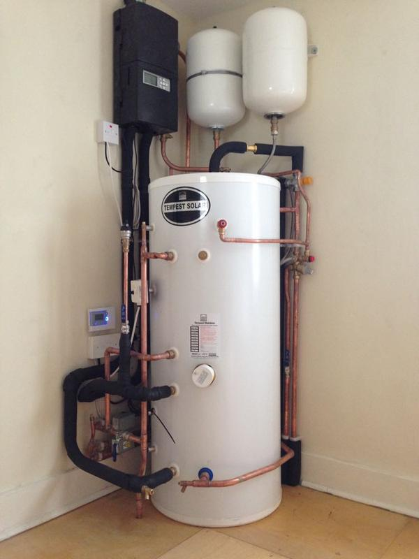 Image 8 - New Unvented Cylinder with Thermal Solar 1 of 2